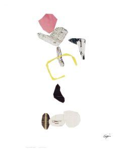Ceci n 'est pas un Calder<br/>Collage 46 cm x 123 cm    1997