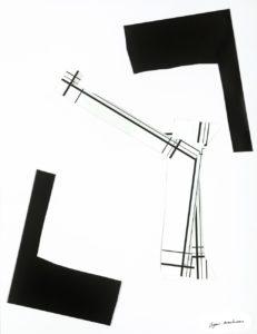 Jazz on Komete II <br> 60 cm x 50 cm