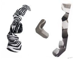 Sculptures 2D <br> 100 cm x 80 cm
